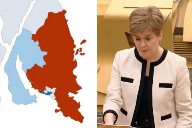 Nicola Sturgeon told MSPs on Tuesday that a decision on moving Argyll and Bute into Level 1 coronavirus restrictions could be made in the coming weeks if infection rates continue to fall