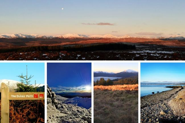 Helensburgh and Lomond is blessed with scenic walking routes