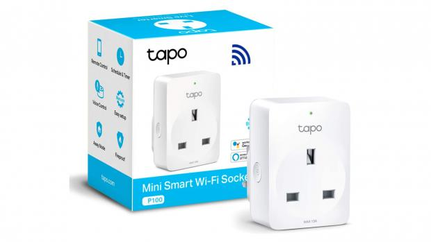 Helensburgh Advertiser: This smart outlet has two outlets that can be controlled independently. Credit: TP-Link