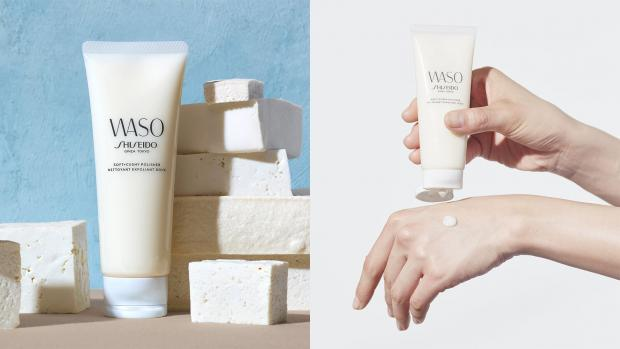 Helensburgh Advertiser: Exfoliate your skin with the Shiseido Waso: Soft & Cushy Polishing Exfoliator. Credit: Shiseido