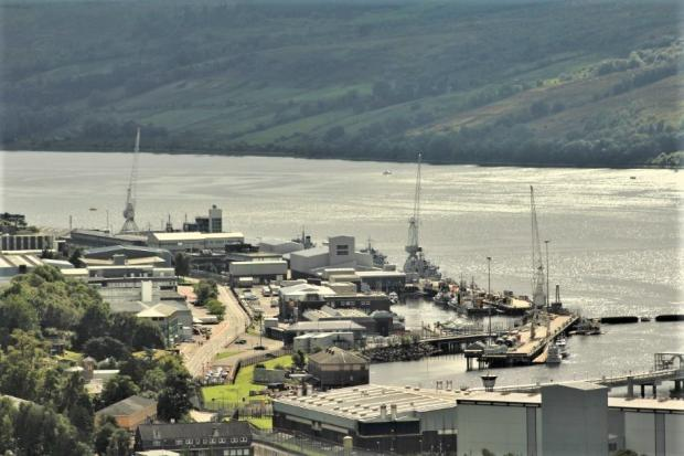 HM Naval Base Clyde at Faslane