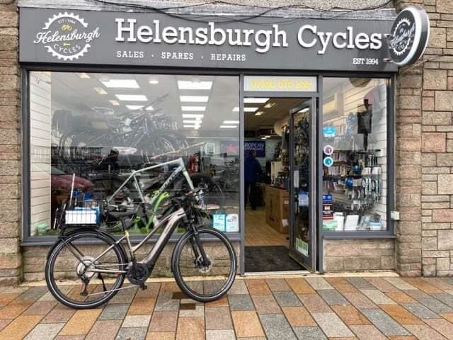 Helensburgh Cycles stepped up to help Jim.