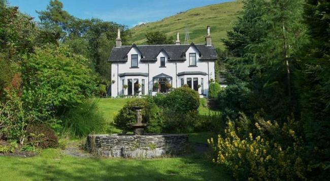 Fascadail House in Arrochar is owned by Kevin and Anne Bax