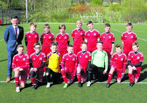 Hermitage Academy football side clinch place in final   Helensburgh