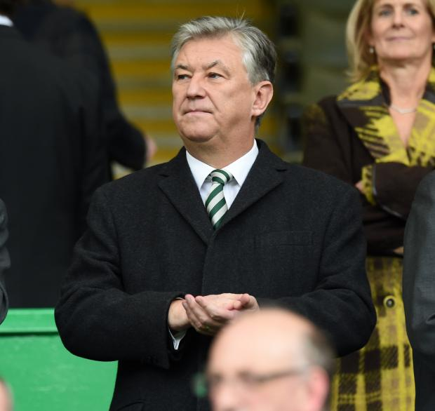 Helensburgh Advertiser: Celtic chief executive Peter Lawwell faced questions today at the club's AGM. Picture: SNS