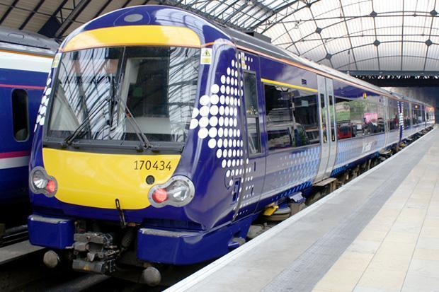 The 9.56am Helensburgh central to Edinburgh Waverley train was cancelled