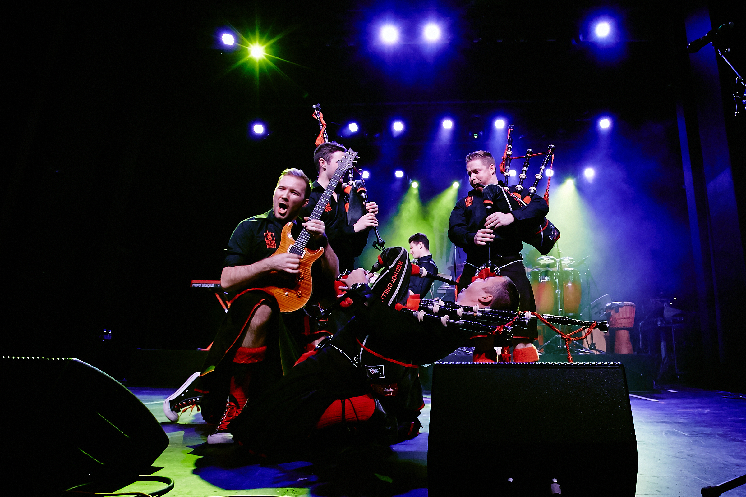 The Red Hot Chilli Pipers will headline the Argyll Gathering in Helensburgh