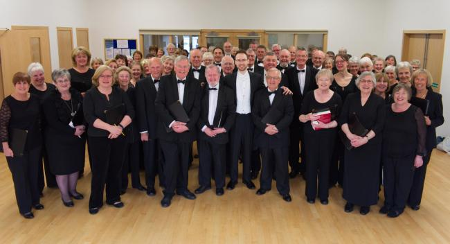 Helensburgh Oratorio Choir pictured before their recent concert (Photo - Kenny Lockhart)