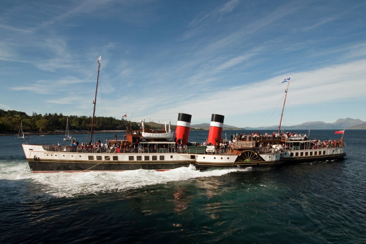 All aboard as Waverley sets sail from Helensburgh and Kilcreggan