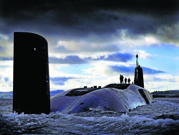 HMS Vigilant is part of the fleet of ballistic submarines which carries the UK's Trident nuclear deterrent