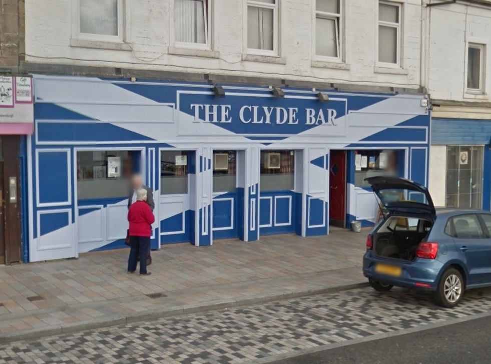 The incident happened at the Clyde Bar in West Clyde Street