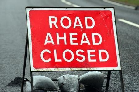 The B872 through Garelochhead will be closed on Thursday, Friday and Monday