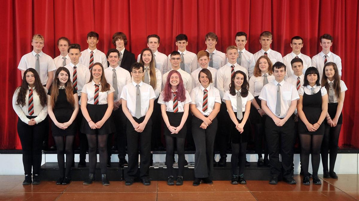 Exceptional' pupils and staff praised at Hermitage Academy awards