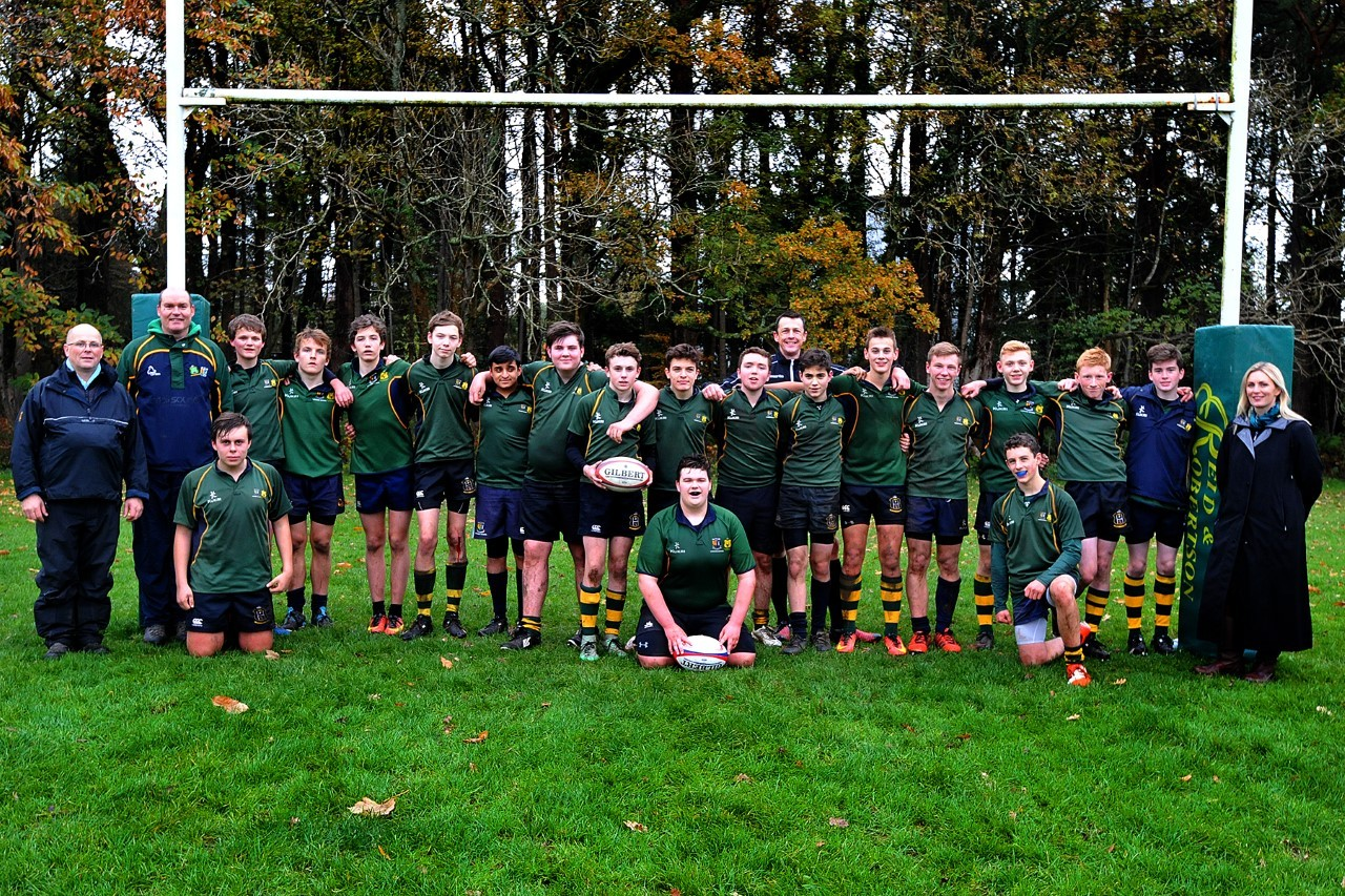 Lomond/Helensburgh's rugby teams were in action against St Columba's School