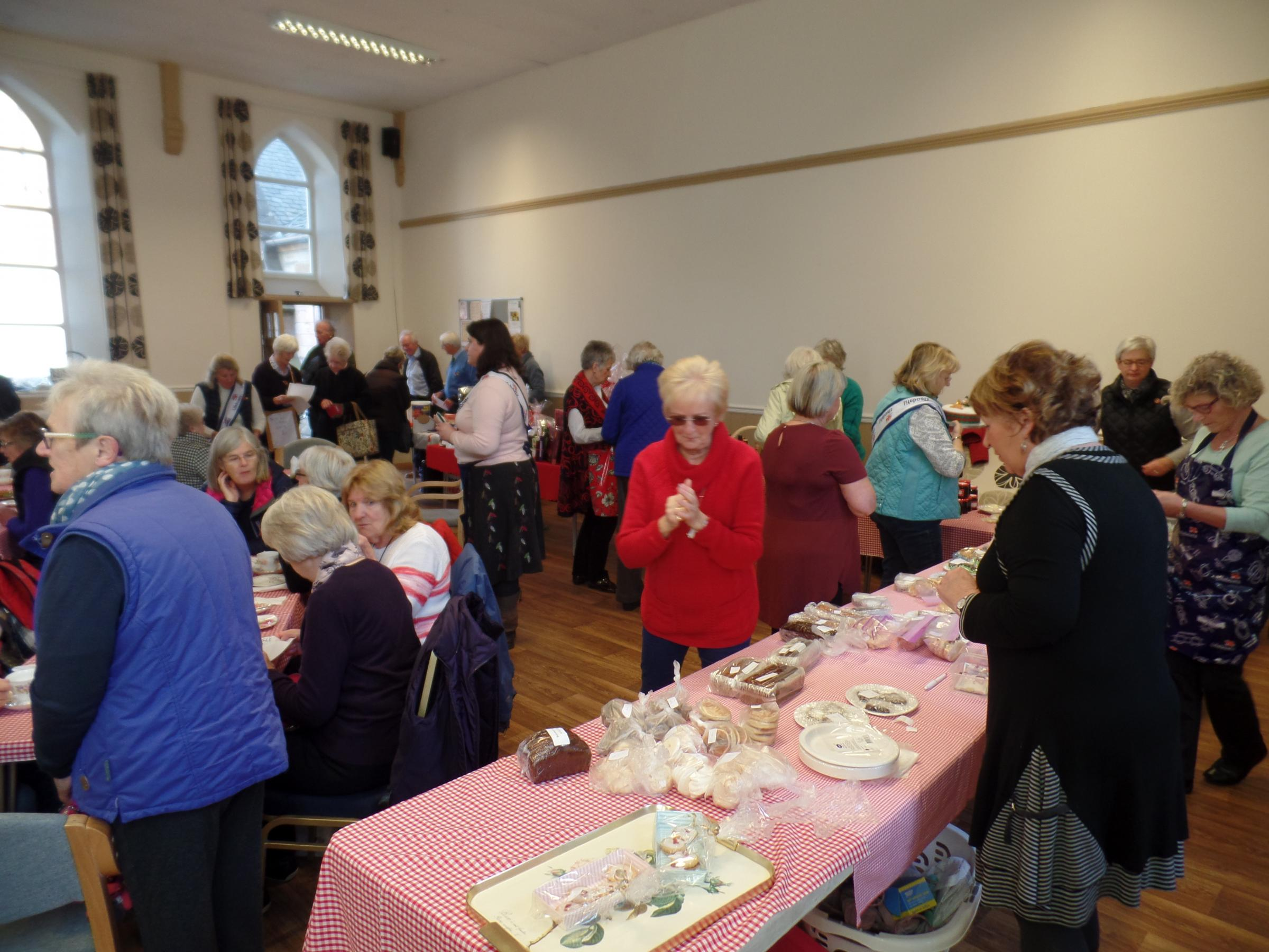 Helensburgh RNLI's fund-raising coffee morning takes place on November 3