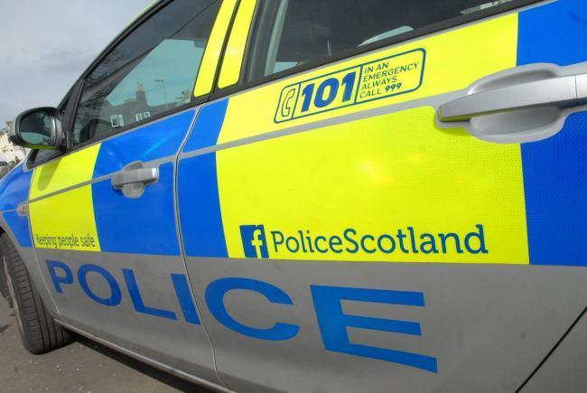Police Scotland officers in Helensburgh are appealing for the public's help after a vehicle in the town had its windows smashed and all four of its tyres punctured