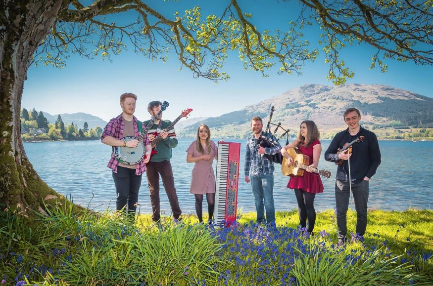 Heron Valley take to the astage in Arrochar on Saturday, March 10