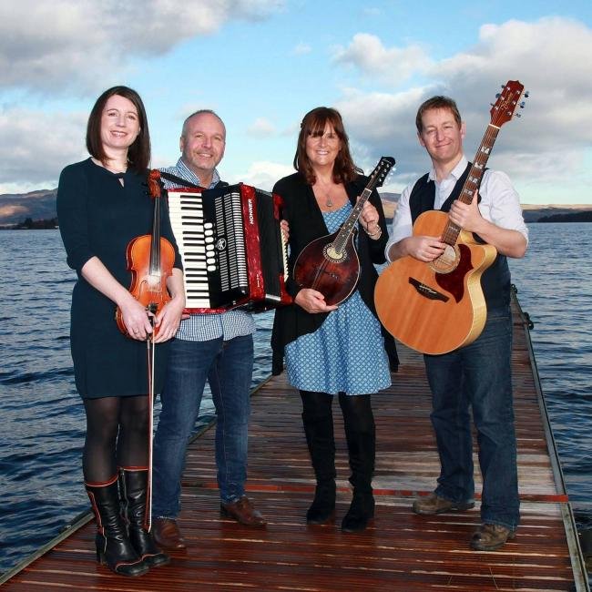 Folky MacFolkFace play live in Helensburgh on March 23