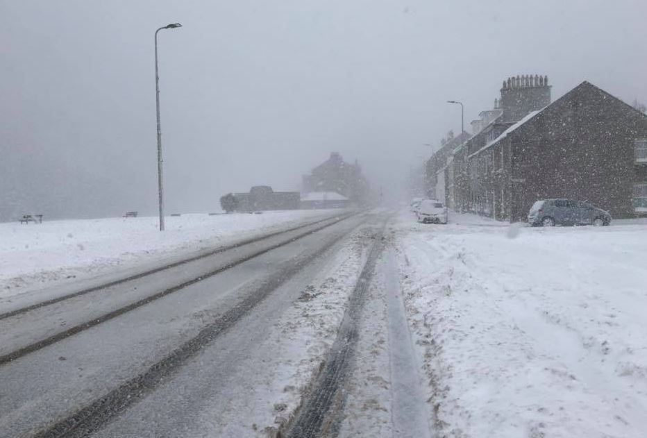 Chiller weather for Helensburgh this week - Helensburgh Advertiser