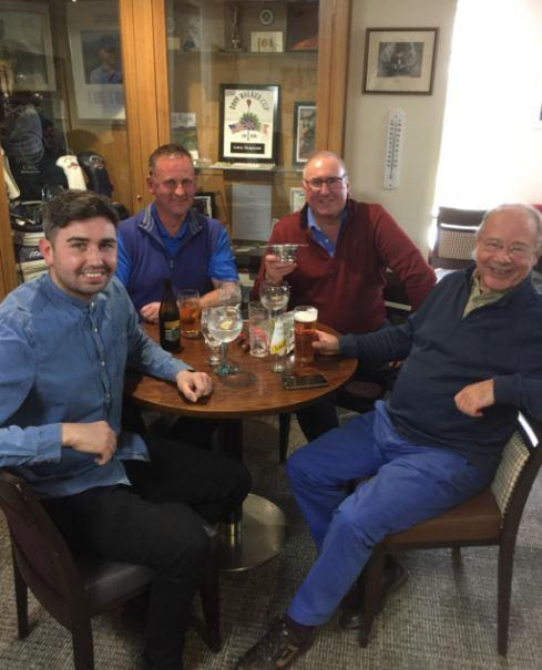 RNLI Scramble winners Craig Scott, Colin Speirs, Steve Scott and Tom Makeham
