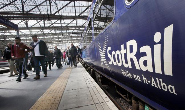 ScotRail services between Helensburgh and Edinburgh have been disrupted