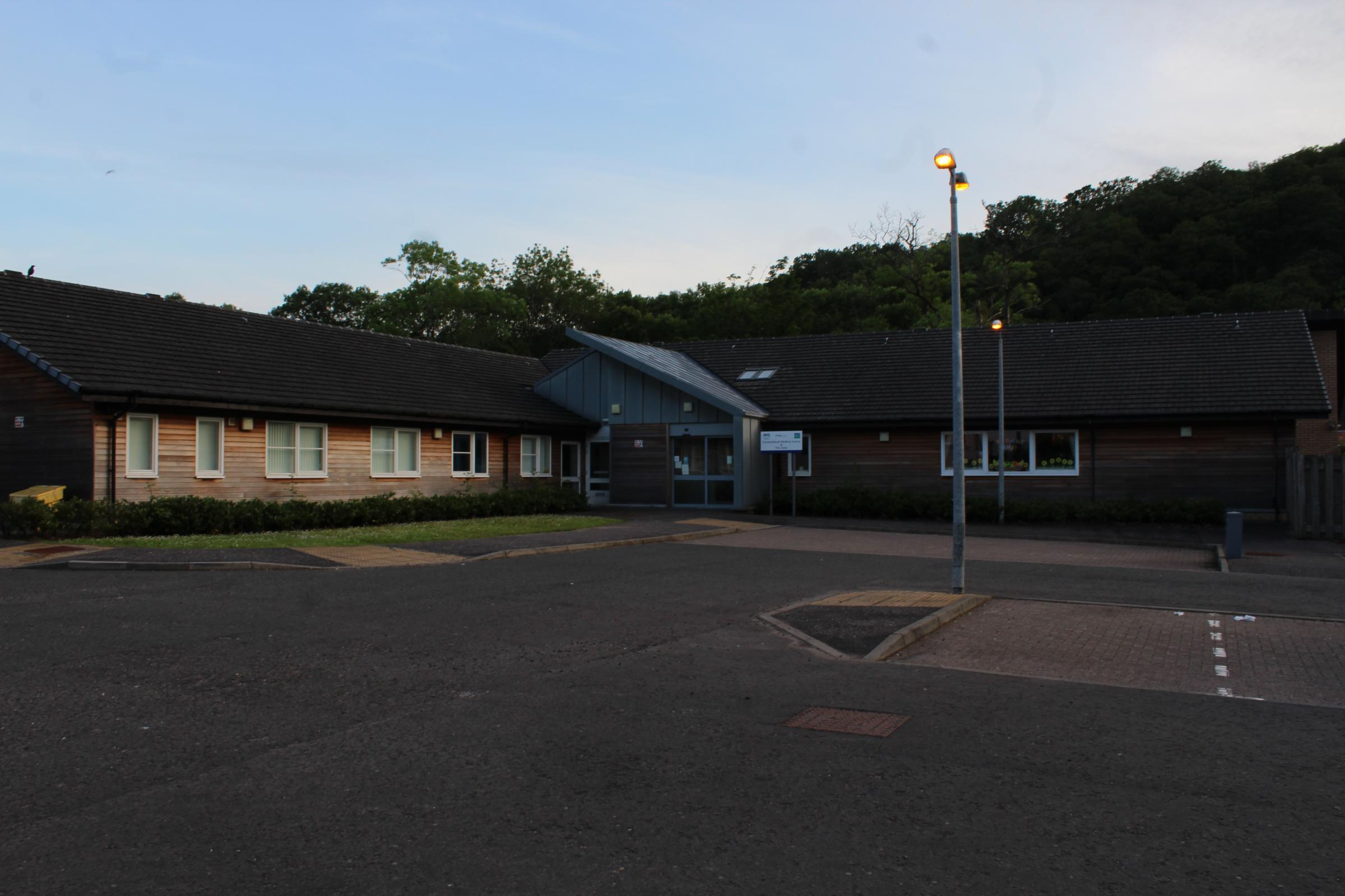 The Garelochhead medical centre is evidence that the village is not being left behind, according to local councillor George Freeman