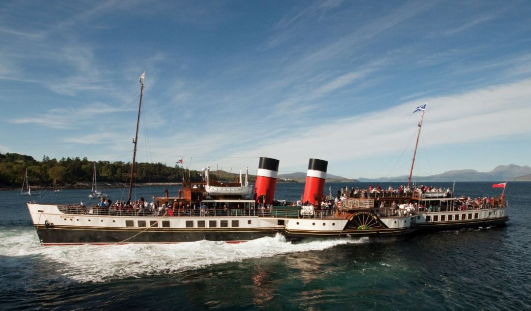 The historic paddle steamer is due to sail