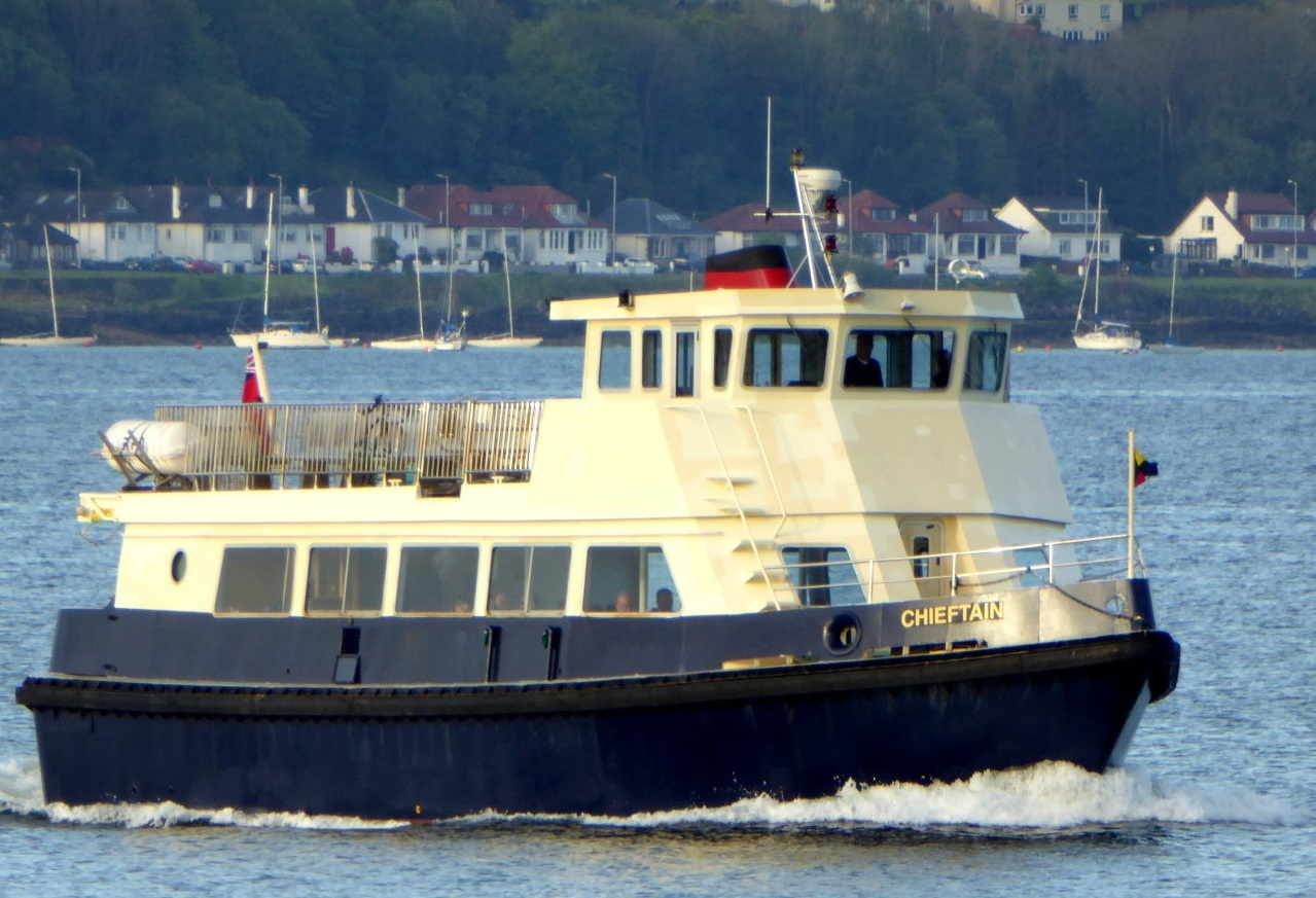 MV Chieftain on her first day back on the Kilcreggan ferry service (Pic - Paul Hunter)