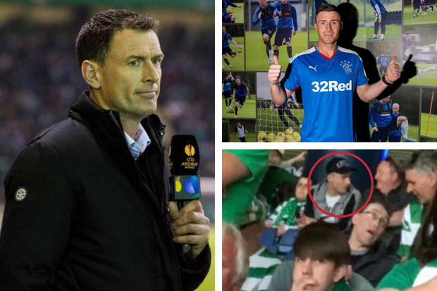 Ex-Celtic ace Chris Sutton speaks out as Rangers' Michael O'Halloran snapped among Hoops fans
