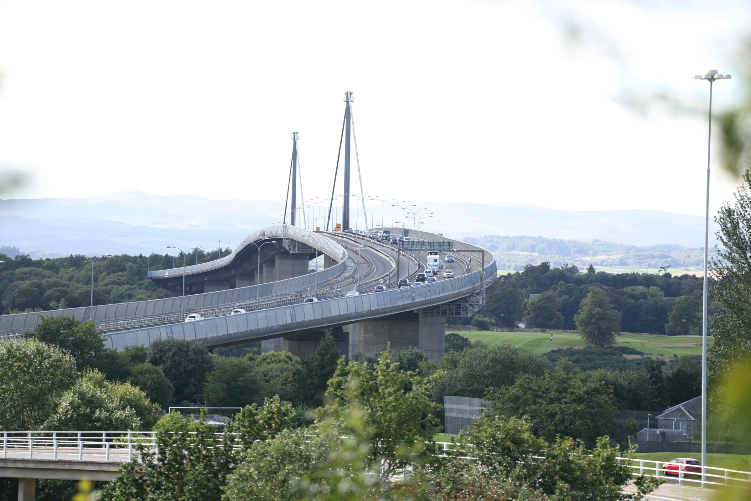 Work on the M898 south of the Erskine Bridge this weekend will now take place overnight only