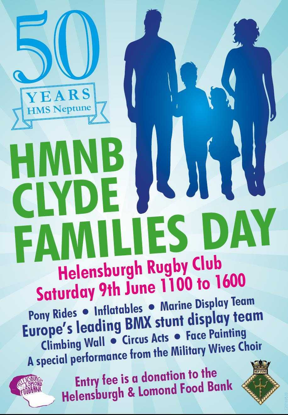 The event takes place on Saturday, June 9 at Helensburgh Rugby Club