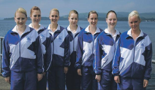 The Margaret Rose School of Dance pupils who performed at the 2008 Tattoo