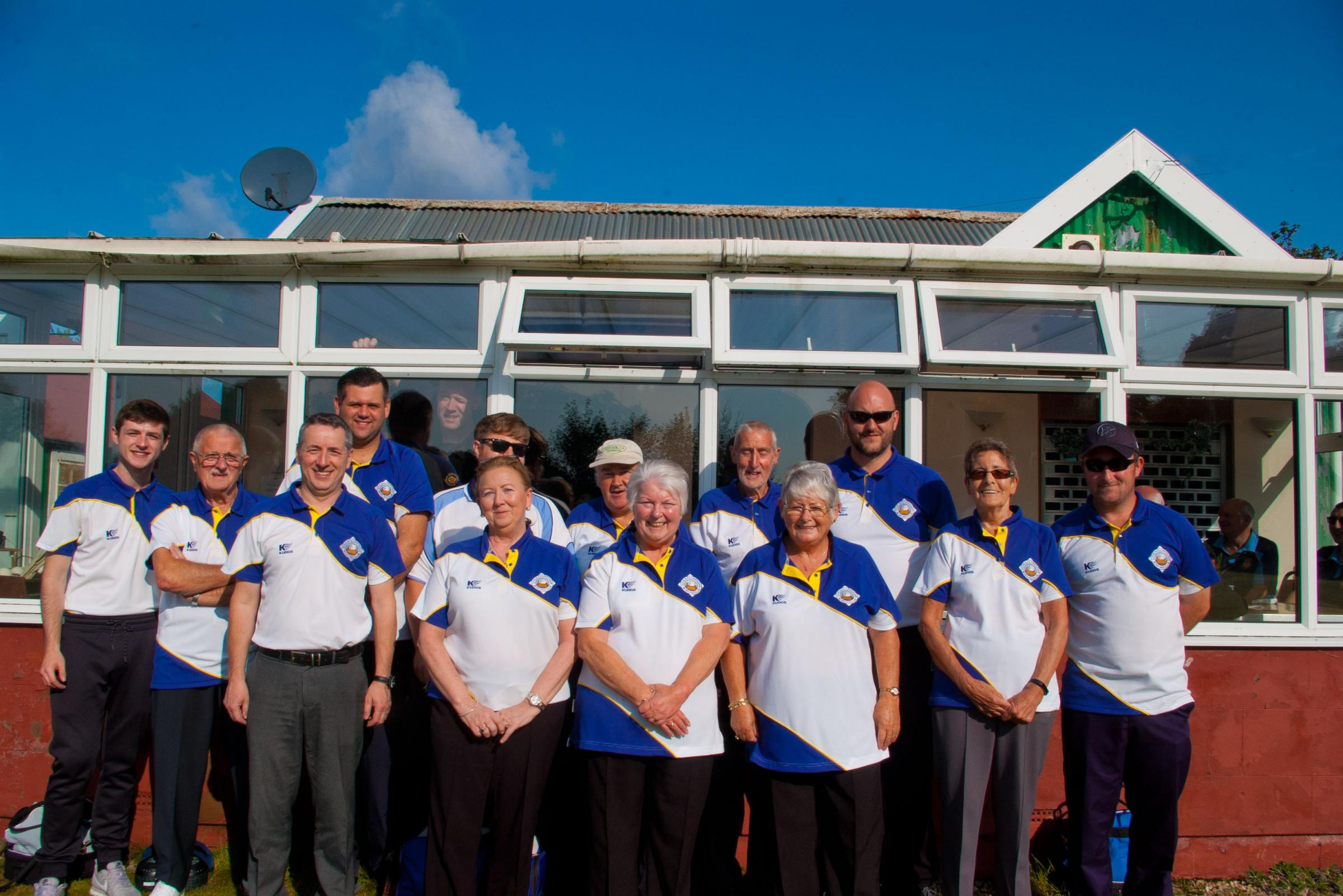 Competitors in Saturday's open pairs tournament at Cove and Kilcreggan