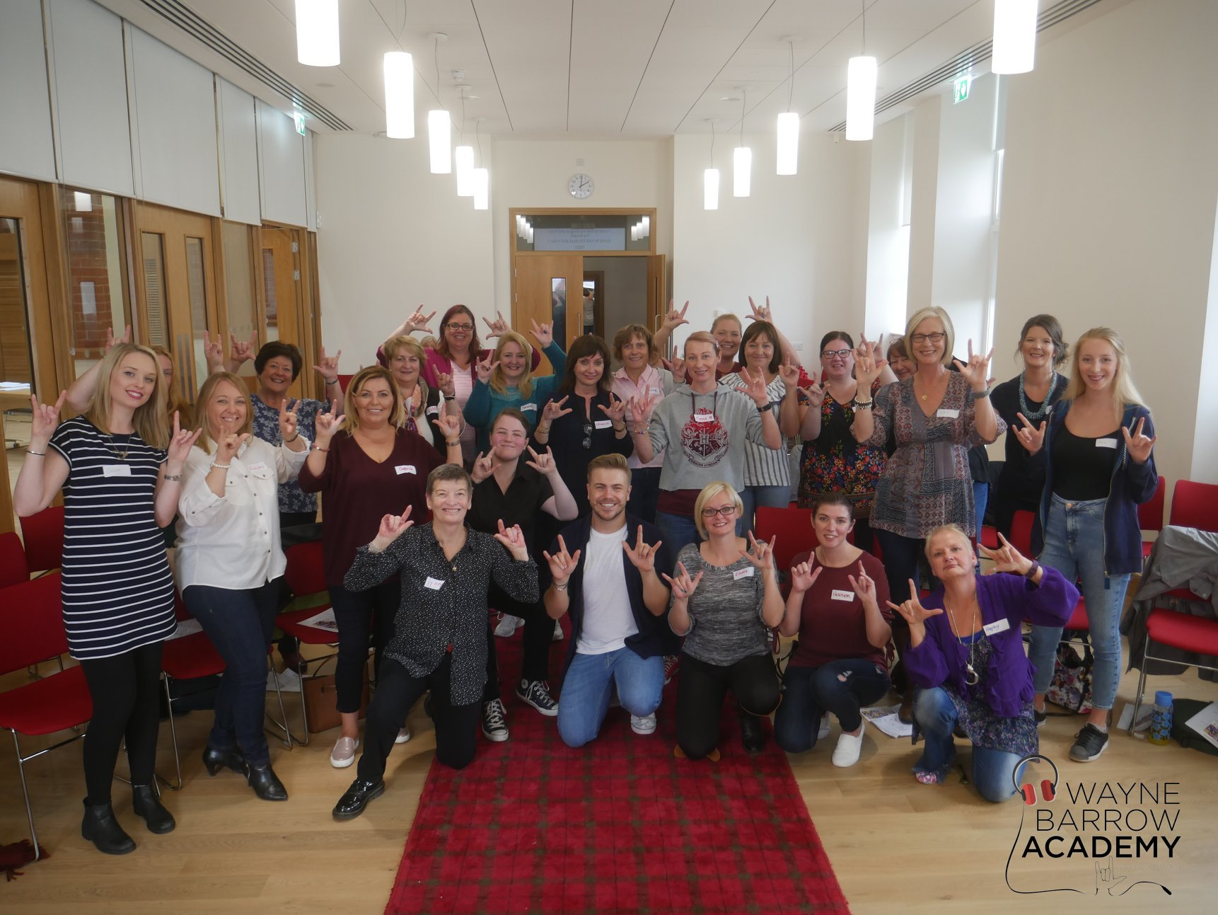 This month's weekend of sign language sessions follows a successful event, also held over two days, in August 2018