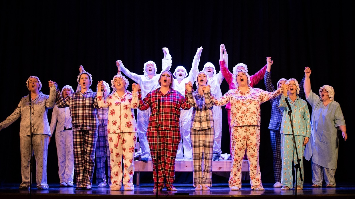 The Helensburgh Savoy Musical Theatre Group are hoping to repeat the success of last year's show, Sister Act: The Musical (Pic - Martin J. Windebank)
