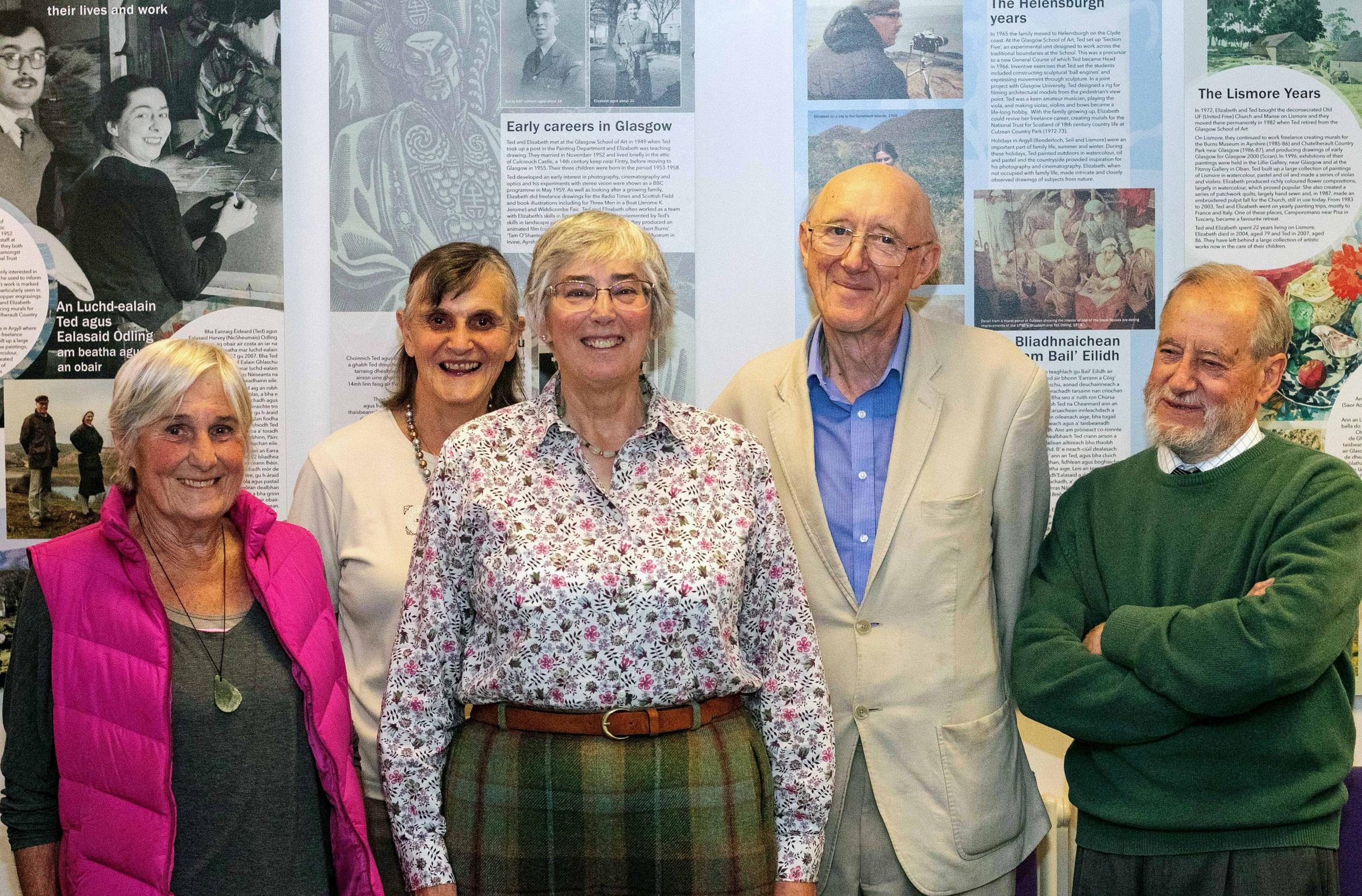 The opening of the exhibition (Pic - Donald Fullarton)