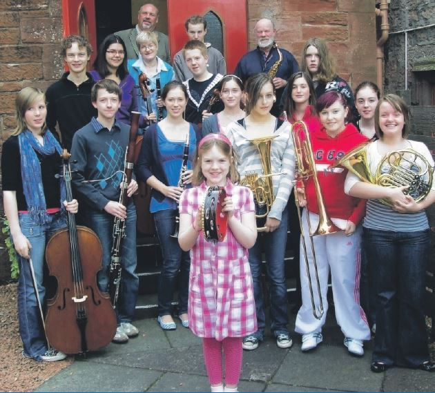 Lomond and Clyde Community Orchestra's 2008 members
