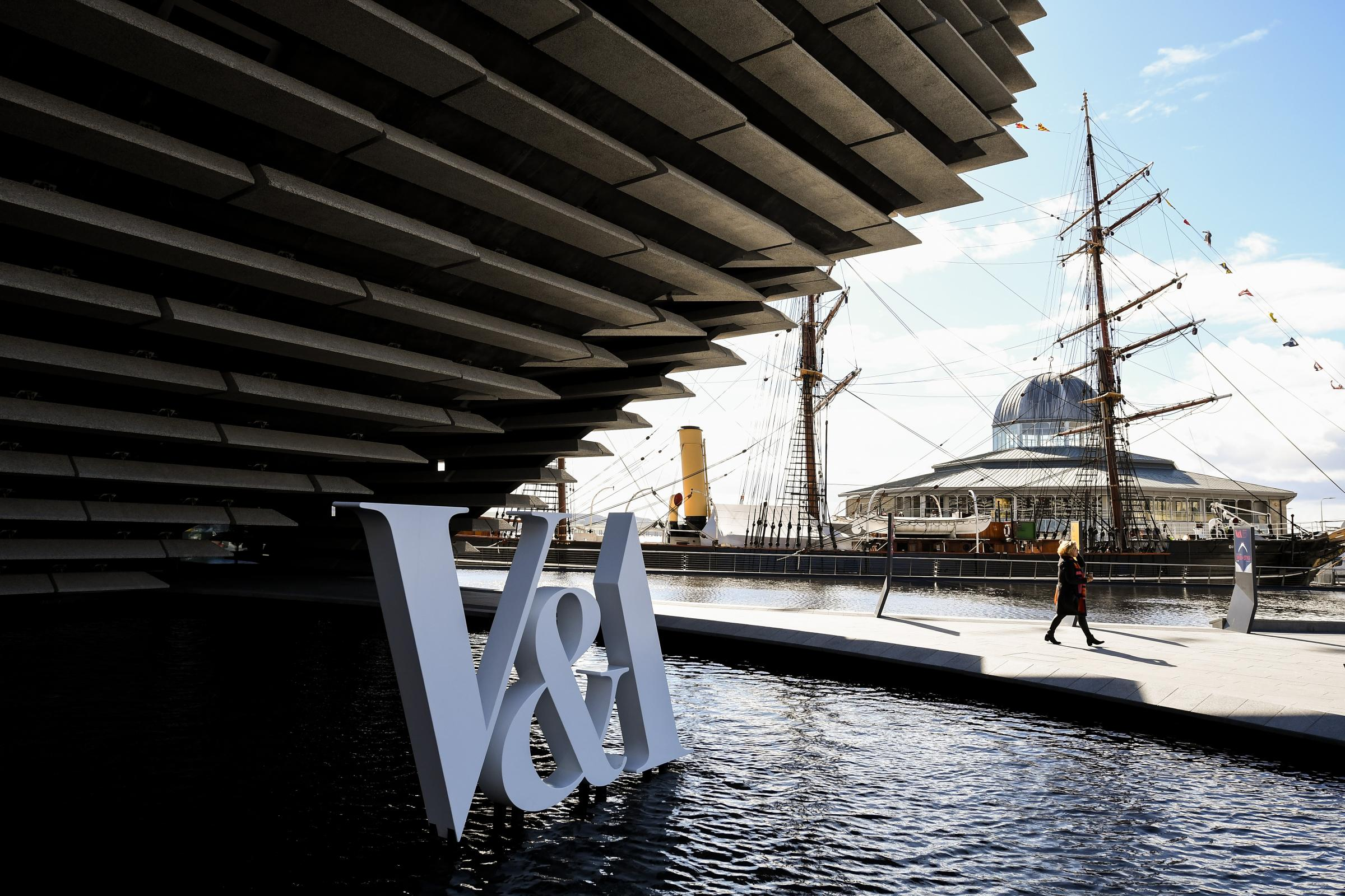 Dundee's new V&A Museum opened to the public in September (Photo - Jeff J Mitchell/Getty Images)
