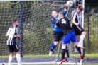 Helensburgh FC beat Dalry Amateurs 6-4 in the first round of the West of Scotland Cup