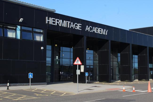 Hermitage Academy - and all other schools in Scotland - are expected to close at the end of this week in response to the coronavirus outbreak