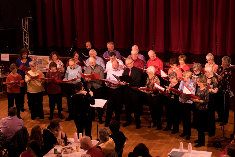 The Helensburgh Dorian Choir is eager to welcome new members