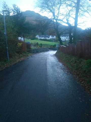 Church Road in Arrochar