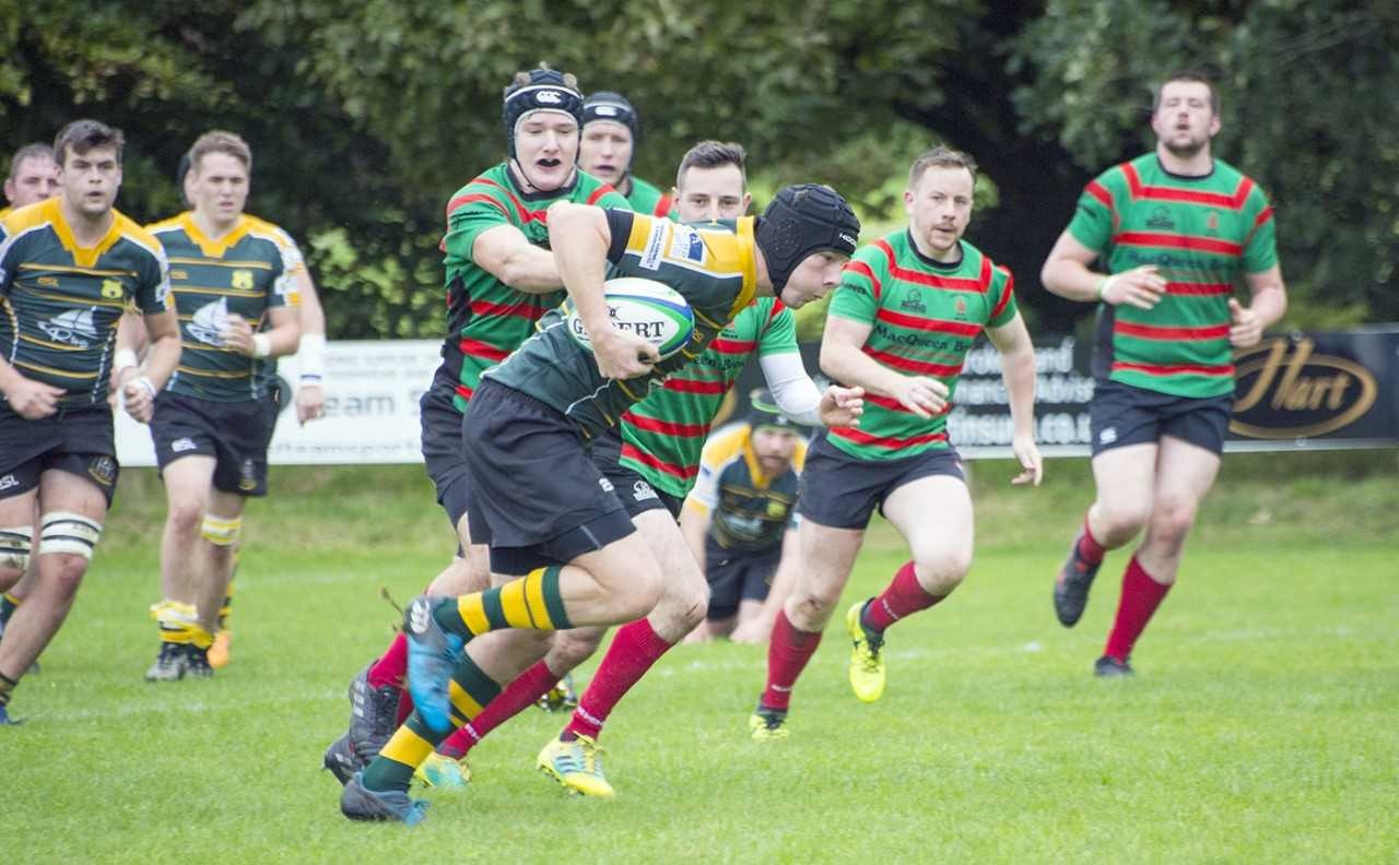 The Grizzlies struggled to contain a high-flying Oban side as they fell to a heavy 47-10 defeat