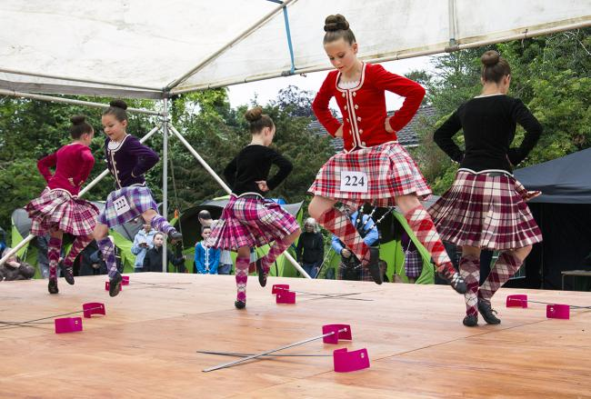 The Rosneath Peninsula Highland Gathering was among the groups who received financial help from the Supporting Communities Fund in 2018-19