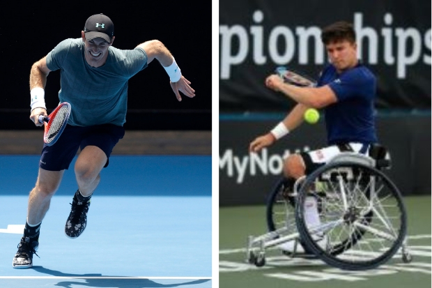 "Gordon Reid, right, says Sir Andy Murray's impending retirement is the ""hardest decision"" the tennis legend will ever have had to make"