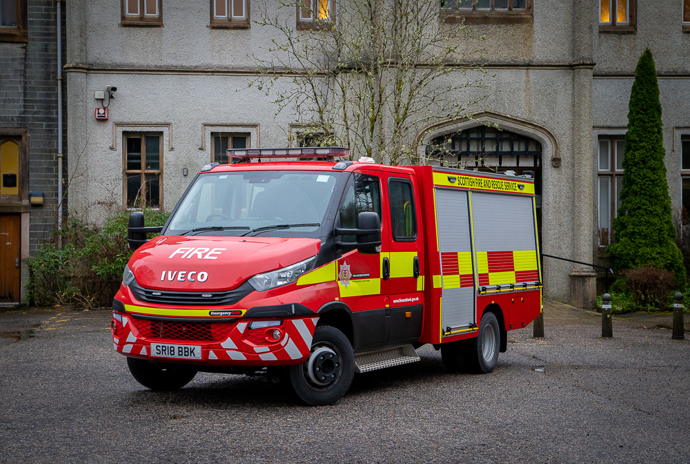 Garelochhead's new fire appliance