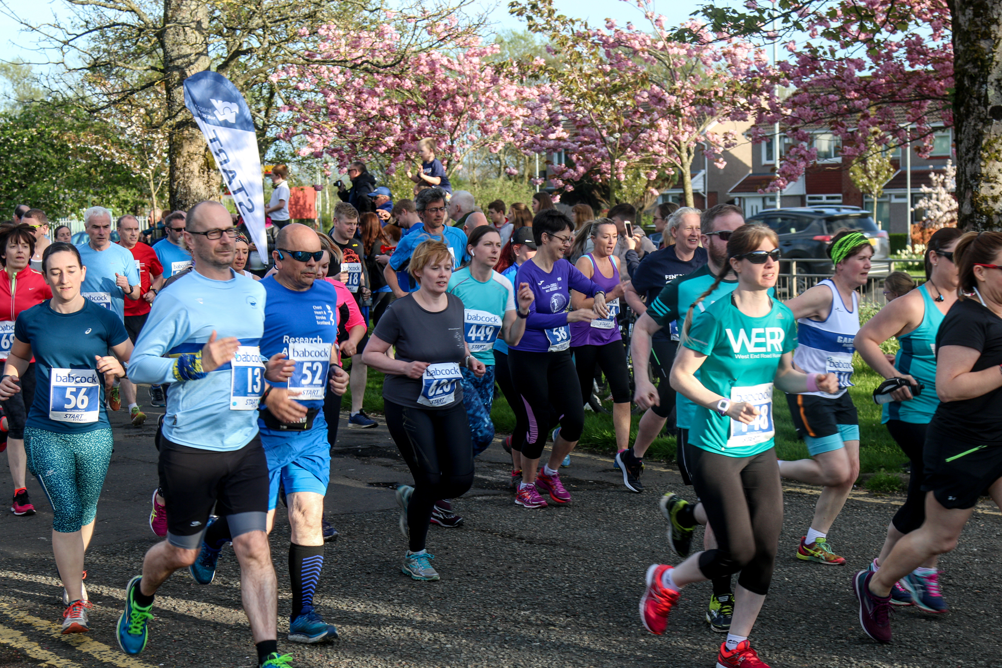 The Babcock 10K Series gets under way in Helensburgh on May 9