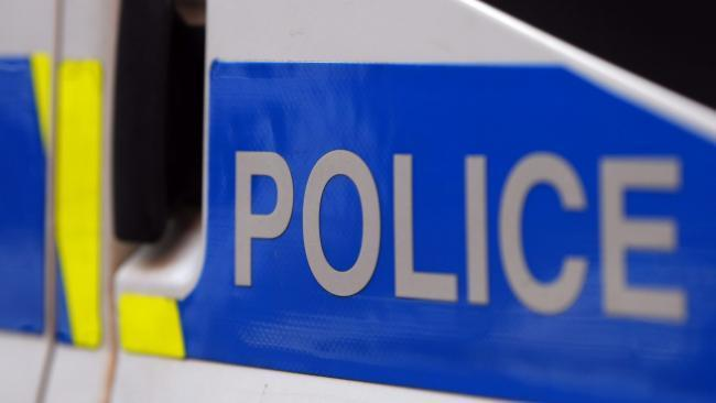 Police stopped a vehicle on the A814 between Cardross and Helensburgh