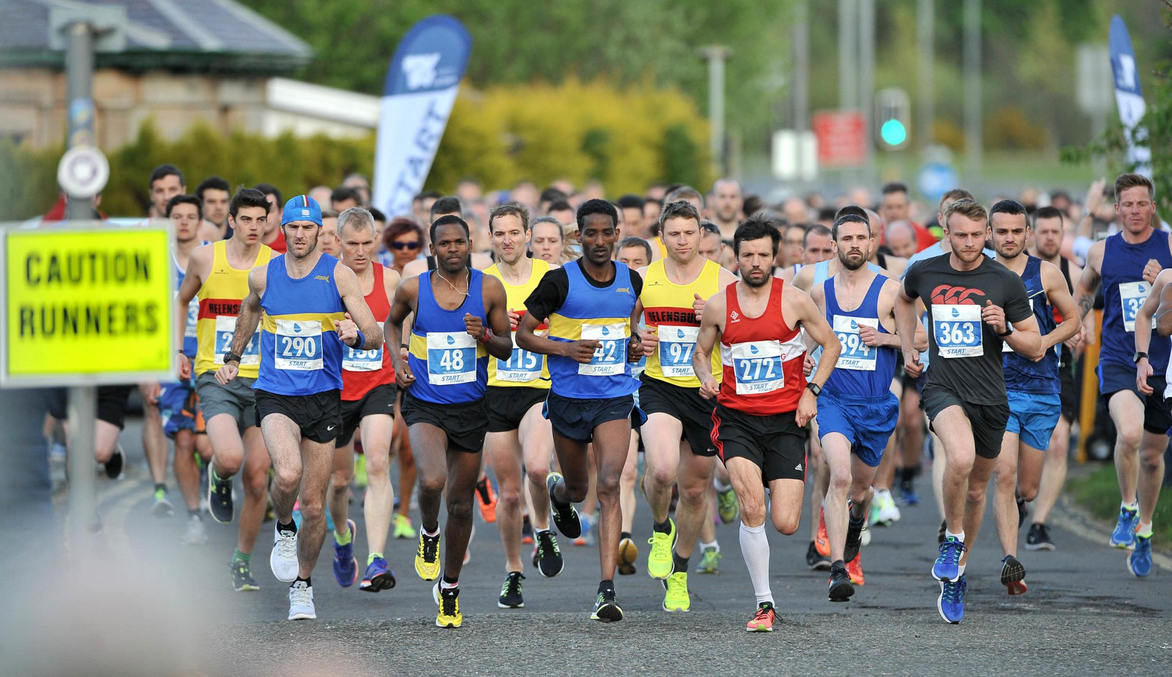 This year's Babcock 10K race series, which starts in Helensburgh on May 9, has already attracted more than 800 entries