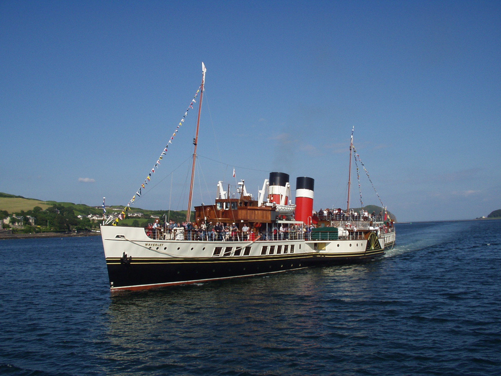 The Waverley will not call at Helensburgh on any of its spring Clyde cruises in late May